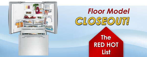 Floor Model Closeouts