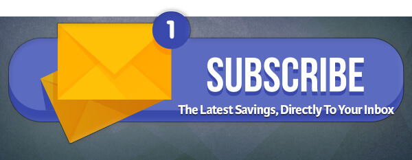 Savings Directly To Your Inbox